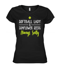 SOFTBALL LADY & SUNFLOWER SEEDS - LIMITED EDITION