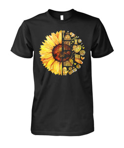 KNITTING SUNFLOWER SHIRT- LIMITED EDITION