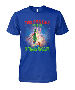 GRINCH - THREE TIMES BIGGER - LIMITED EDITION