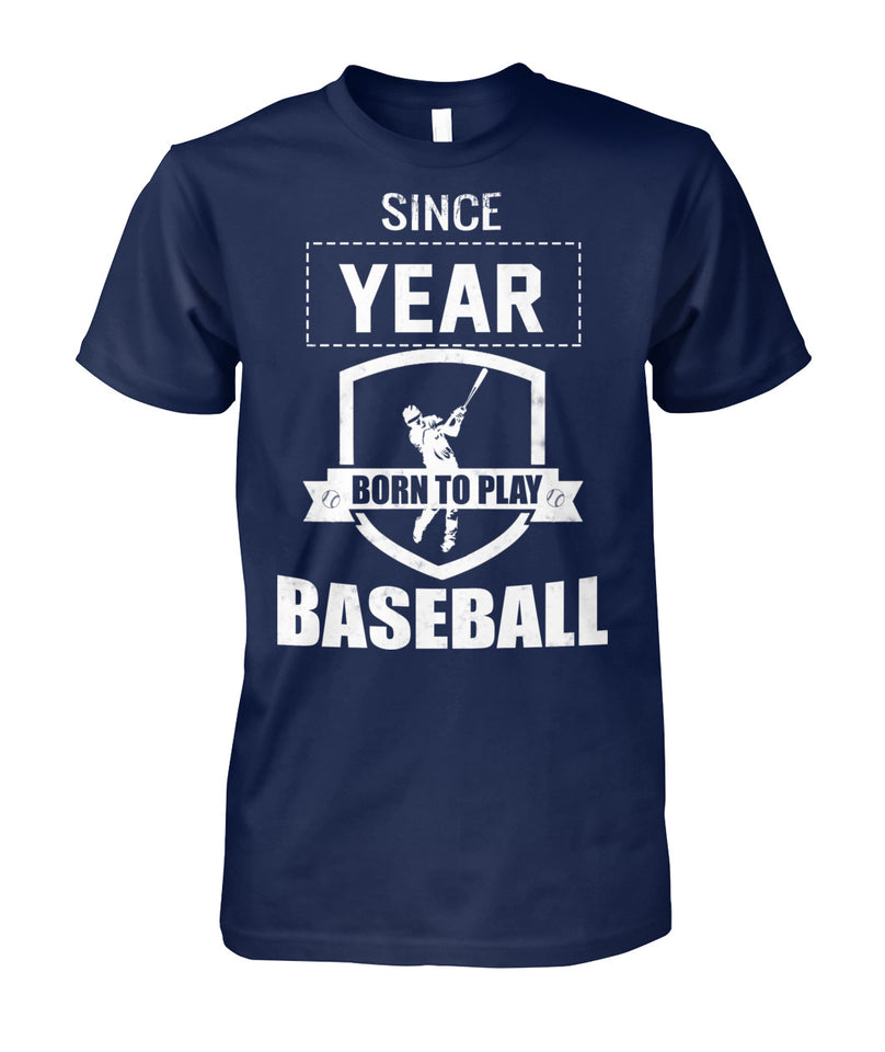 BORN TO PLAY BASEBALL - LIMITED EDITION