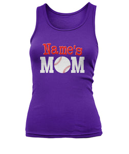 BASEBALL MOM SHIRT - NAME - LIMITED EDITION