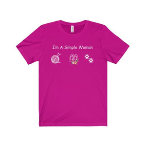 KNITTING SHIRT - I'M A SIMPLE WOMAN - LIMITED EDITION