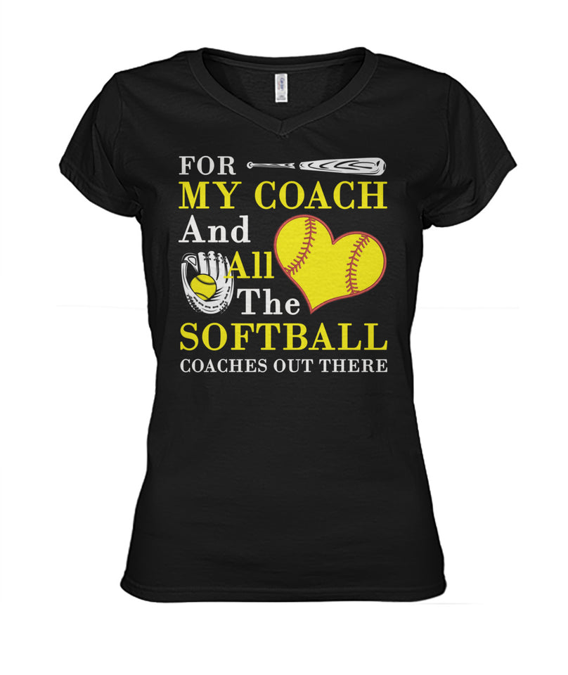 MY SOFTBALL COACH
