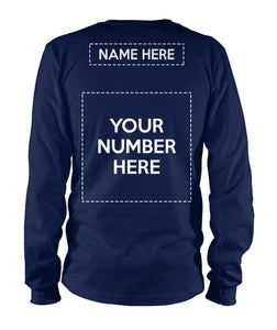 BASEBALL - BE YOUR BIGGEST FAN - NAME - NUMBER - CUSTOMIZED SHIRT