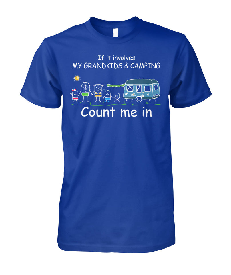 CAMPING- IF IT INVOLVES MY GRANDKIDS