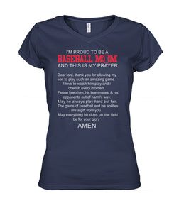 BASEBALL- I PROUD TO BE A BASEBALL MOM A