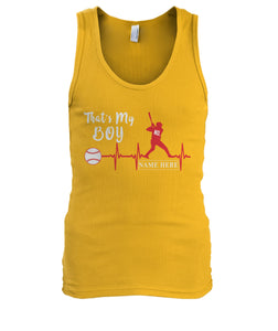BASEBALL-THAT'S MY BOY-MEN'S TANK TOP