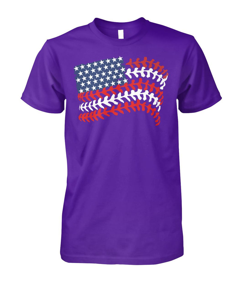 BASEBALL FLAG WITH NAME AND NUMBER- CUSTOMIZED SHIRT (K)
