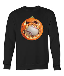 PUMPKIN EAT BASEBALL