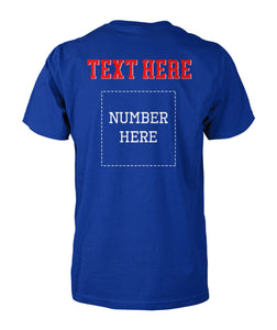 BASEBALL - TEAM MOM - NAME - NUMBER - CUSTOMIZED SHIRT