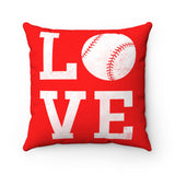 CUSTOM BASEBALL SQUARE PILLOW - LIMITED EDITION
