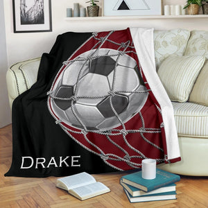 Soccer Ball Ball Custom Blanket - LU3110192TQ