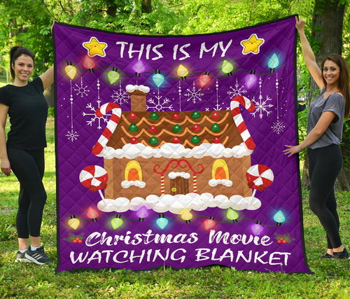 THIS IS MY CHRISTMAS WINE PREMIUM QUILT - TA100919OA