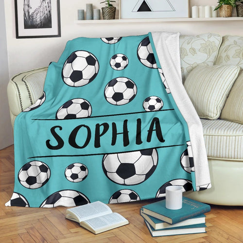 Ball Soccer Custom Blanket - VI3009193HO