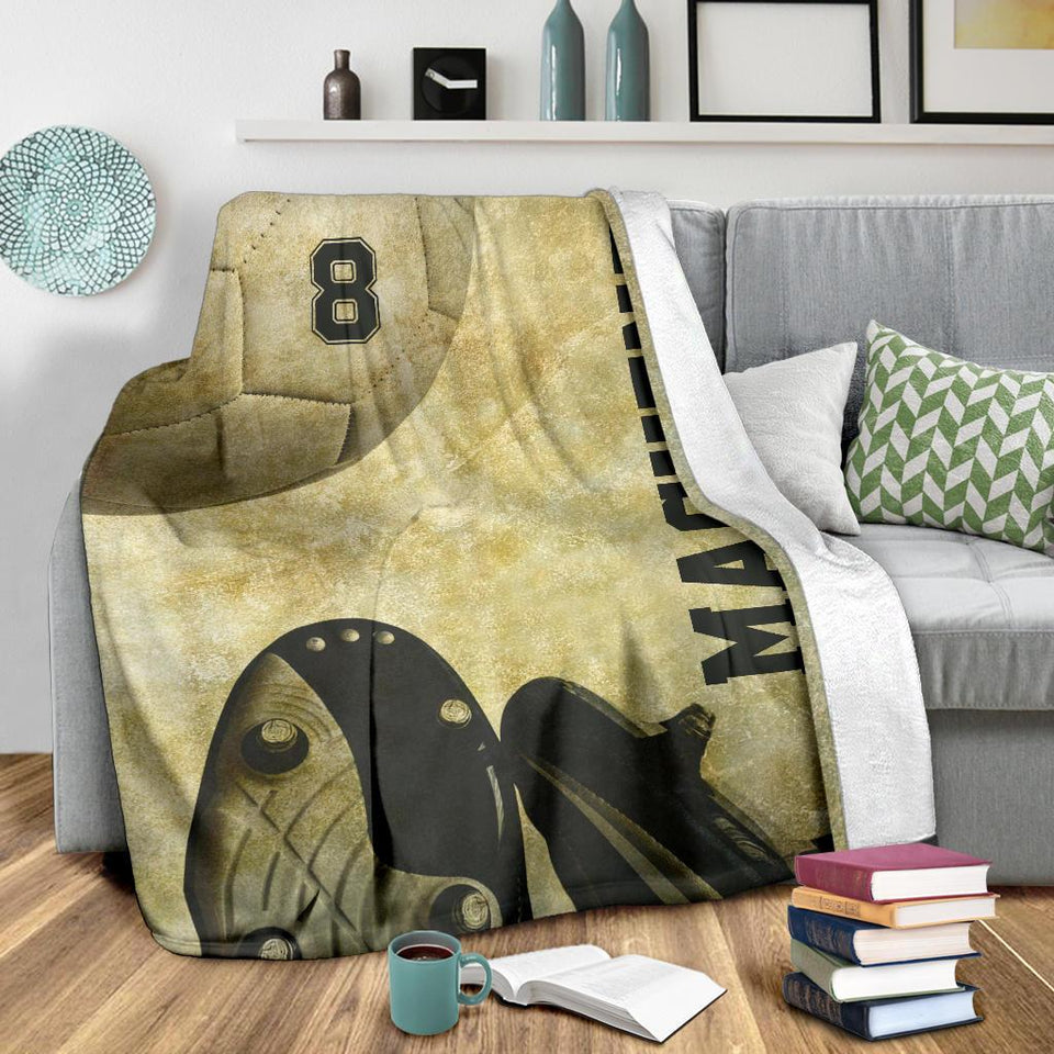 Retro Soccer Custom Blanket - TH1812192NG