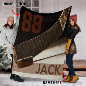 Hockey Gift Custom Blanket - VI0811193HO