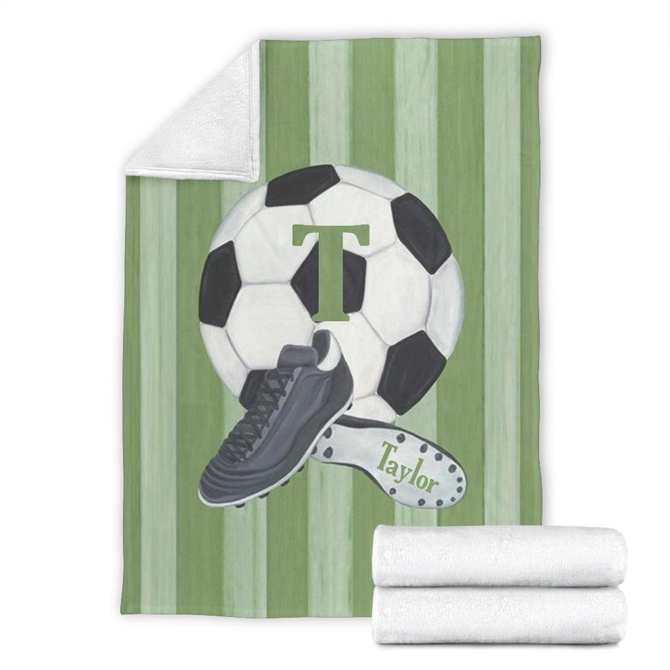 Soccer Ball Custom Blanket - LU0811192HO