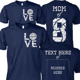 VOLLEYBALL FAMILY-CUSTOMIZED SHIRT