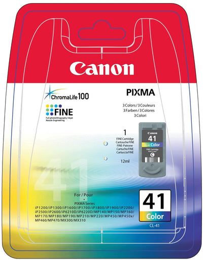 Canon CL-41 Printer Ink Cartridge