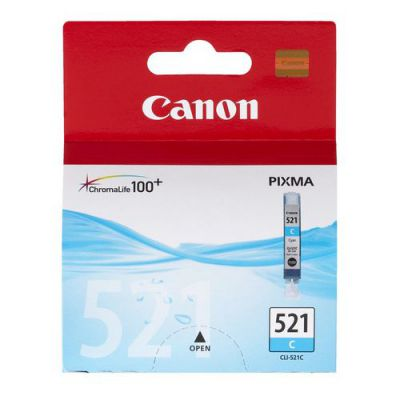 Canon CLI-521 Printer Ink Cartridge Cyan