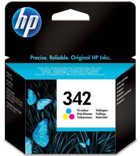 HP 342 Tri-colour Original Ink Cartridge Page Yield 220 (C9361EE)
