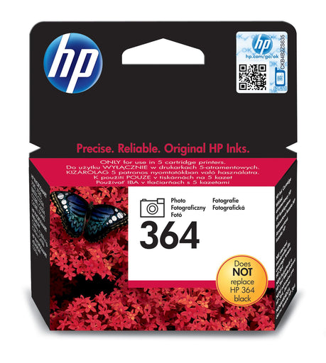 HP 364 Photo Original Ink Cartridge Page Yield 130 (CB317EE)