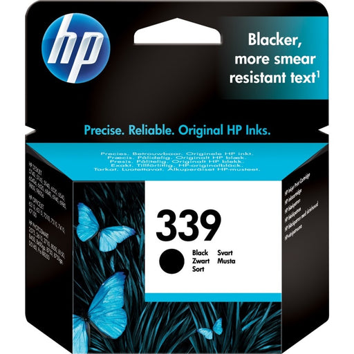 HP 339 Black Original Ink Cartridge Page Yield 860 (C8767EE)