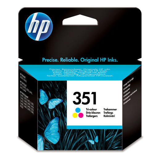 HP 351 Tri-colour Original Ink Cartridge Page Yield 170 (P/N CB337EE)