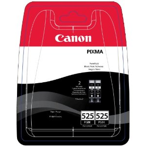 Canon PGI-525 Printer Ink Cartridges Twin