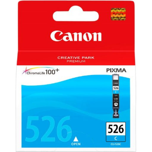 Canon CLI-526 Printer Ink Cartridge Cyan