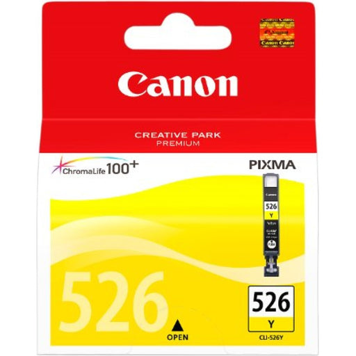 Canon CLI-526 Printer Ink Cartridge Yellow