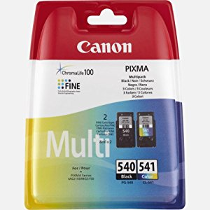 Canon PG-540 / CL-541 Ink Cartridge Combo Pack