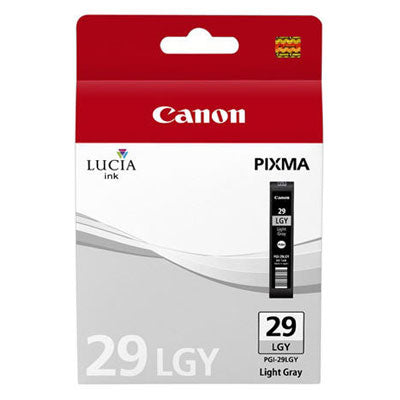 Canon Original PGI-29 Light Grey Ink Cartridge