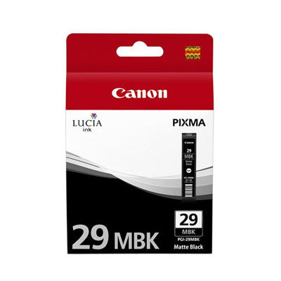 Canon Original PGI-29 Matte Black Ink Cartridge