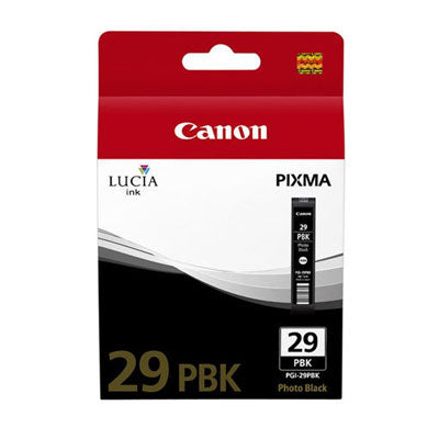 Canon Original PGI-29 Photo Black Ink Cartridge