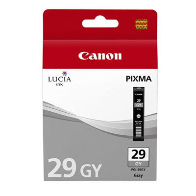 Canon PGI-29 Printer Ink Cartridge Grey