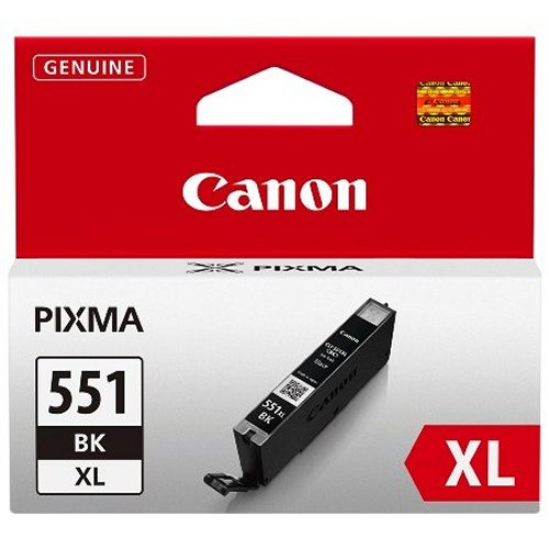 Canon CLI-551XL Printer Ink Cartridge Black