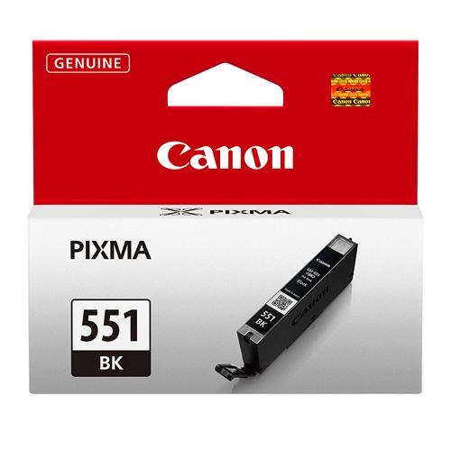 Canon CLI-551 Printer Ink Cartridge Black