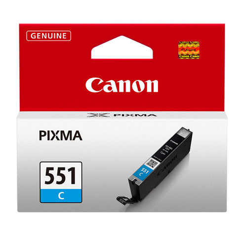 Canon CLI-551 Printer Ink Cartridge Cyan