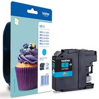 Brother Original LC123 Cyan Inkjet Cartridge