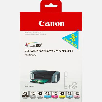 Canon CLI-42 Multipack Printer Ink Cartridges
