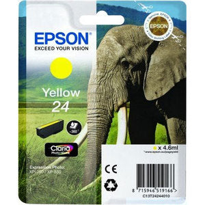 Epson Original T24 Yellow Claria Photo HD Ink