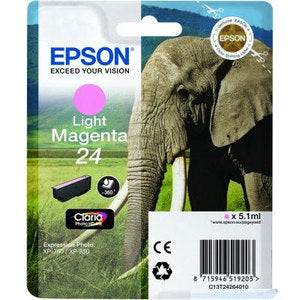Epson Original T24 Light Magenta Claria Photo HD Ink