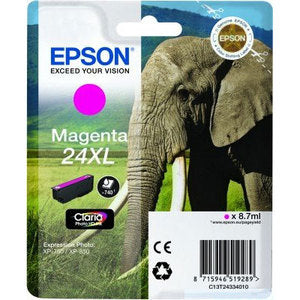 Epson Original T24XL Magenta Claria Photo HD Ink