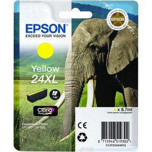 Epson Original T24XL Yellow Claria Photo HD Ink