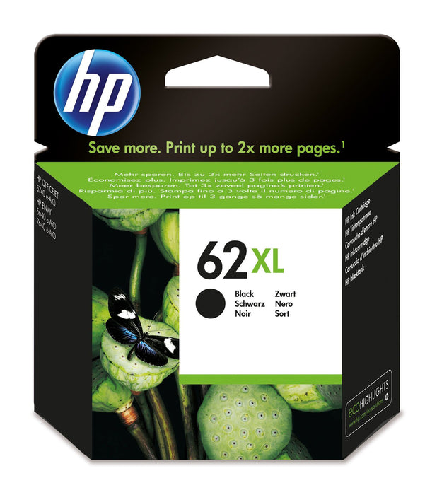 HP 62XL High Yield Black Original Ink Cartridge