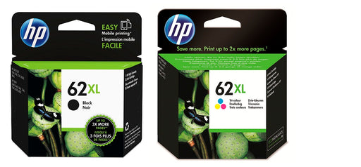HP 62xl Black and 62xl Colour Combo Pack