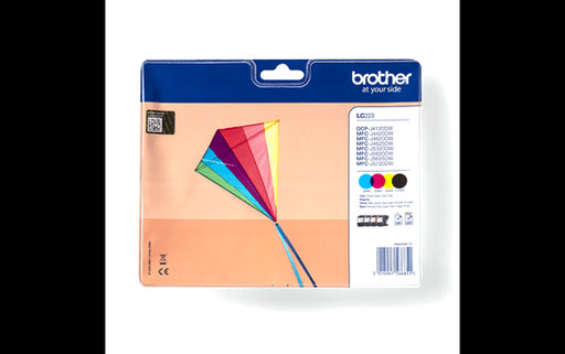 Brother Original LC223 , Magenta, Yellow, Black, Cyan Ink Value Pack