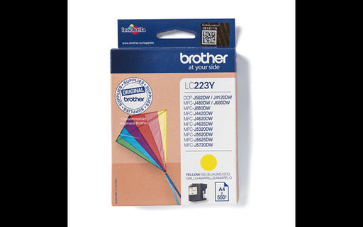Brother Original LC223 Standard Yellow Ink Cartridge