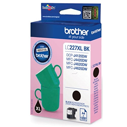 Brother Original LC227 High Capacity Black Ink Cartridge